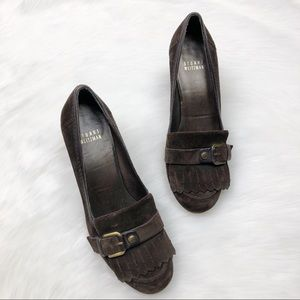 Stuart Weitzman Brown Heeled Shoes Sz 6.5